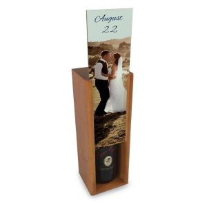 Customize your own wine storage box also great for storing spirits