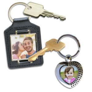 Winkflash custom photo key chains offer many personalized options
