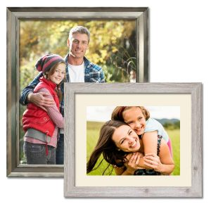 Beautiful framed photo prints with selection of different framing and mat options