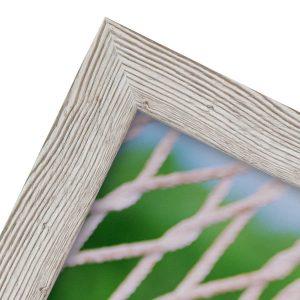 White photo frame. Western White photo frame