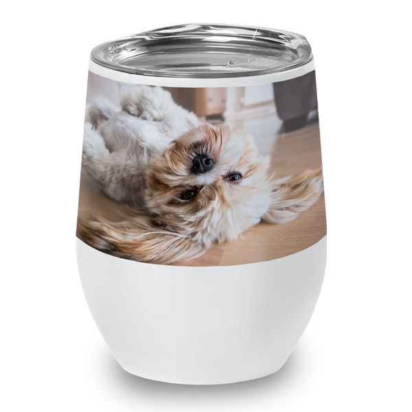 Add your photo to a high quality wine cup perfect for after work activities