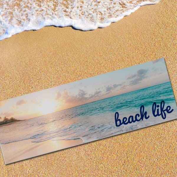 Custom Beach Mat