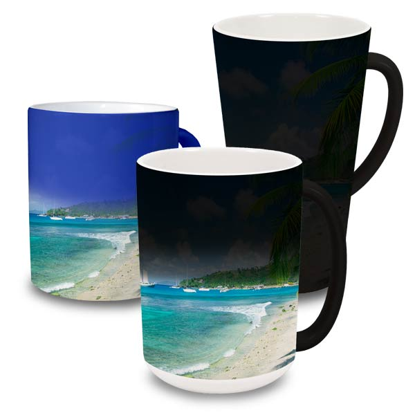 Create your own mug that actually changes color when you add a hot beverage